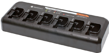 Motorola 6 Way Multi-Unit Charger for DP1400